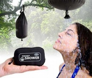 Gadget camping Pocket Shower